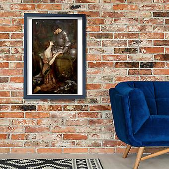 John William Waterhouse - Lamia Poster Print Giclee