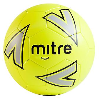 Mitre Impel Training Football Soccer Ball Yellow/Silver/Black