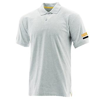 Caterpillar Miesten Essentials Polo Heather Grey