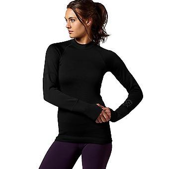 Reebok CF Cold Mock Z89015 crossfit todo ano camiseta feminina