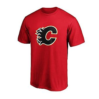 Fanatikere NHL Calgary Flames Johnny Gaudreau spiller navn & nummer T-shirt