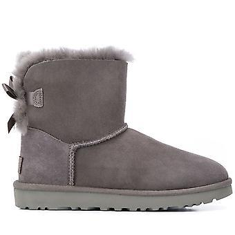 Mini Bailey Bow II Grey Boots