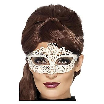 Broderet kniplinger filigran Eyemask