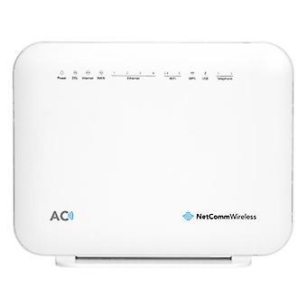NetComm NF18ACV AC1600 Wi-Fi xDSL modem router met stem