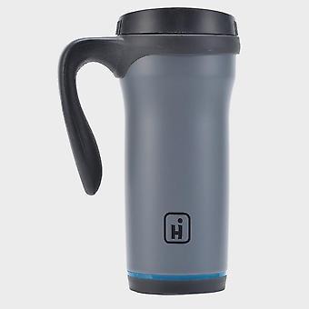 Nueva taza de acero inoxidable Hi-Gear (0,5 litros) gris