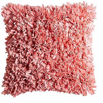 Elodie Cushion 50x50cm Coral