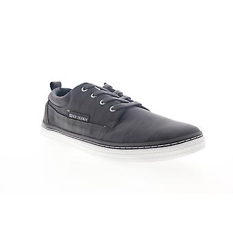 Ben Sherman Brahma Oxford  Mens Gray Leather Low Top Sneakers Shoes