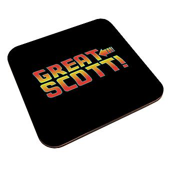 Back To The Future Great Scott Coaster