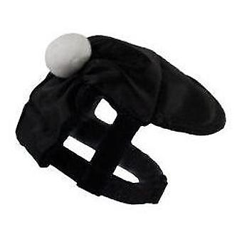 Grande Finale Cap black/white size 5/30-40cm (Dogs , Dog Clothes , Fashion Accessories)