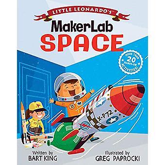 Little Leonardo's MakerLab Space by Bart King - 9781423651154 Book