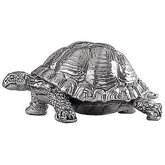 Orton West Tortoise Ornament - Silver