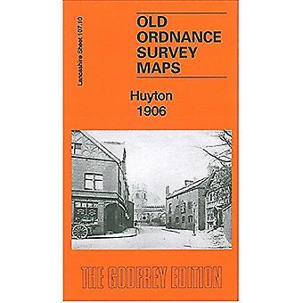 Huyton 1906 - Lancashire Sheet 107.10 by Kay Parrott - 9781847847133 B