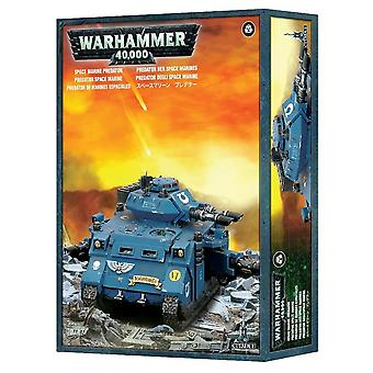 Space Marines Predator, Warhammer 40,000, 40k, Games Workshop