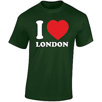 I Love London heren T-Shirt 10 kleuren (S-3XL) door swagwear