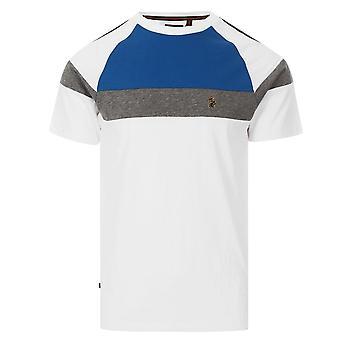 Luc - France Teedam Zm500150 Vintage Tape T-shirt - Blanc