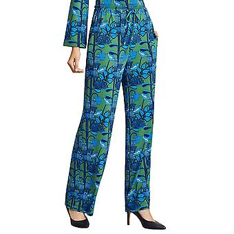 Brooks Brothers Women's Floral Print Jersey Pants