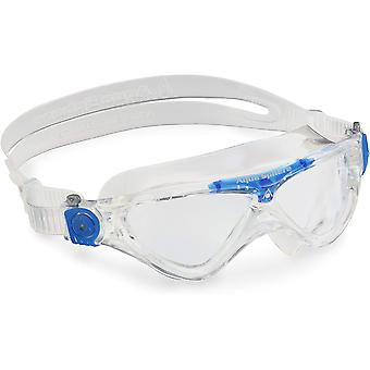 Aqua Sphere Vista Junior Swim Goggle - Clear Lens - Clear/Blue