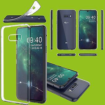 Für LG G8X ThinQ Silikoncase TPU Schutz Transparent Tasche Hülle Cover Etui Zubehör Neu