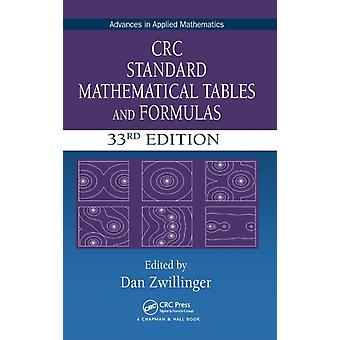 CRC Standard Mathematical Tables and Formulas by Daniel Zwillinger