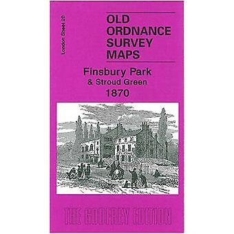 Finsbury Park and Stroud Green 1870  London Sheet  20.1 by Alan Godfrey