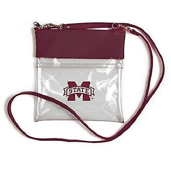 Mississippi State Bulldogs NCAA Clear Gameday Crossbody Purse