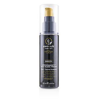 Awapuhi wild ginger smooth mirrorsmooth high gloss primer (shine   thermal protection) 100ml/3.4oz