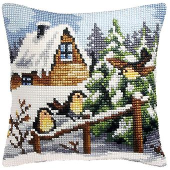 Orchidea Tapestry Kit - Winter Perch