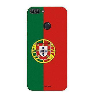 هال ل هواوي P الذكية 2018 نمط مرنة العلم البرتغالي