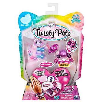 Twisty Petz Series 4 - 3 Pack - Ticklez Monkey & Lavy Puppy