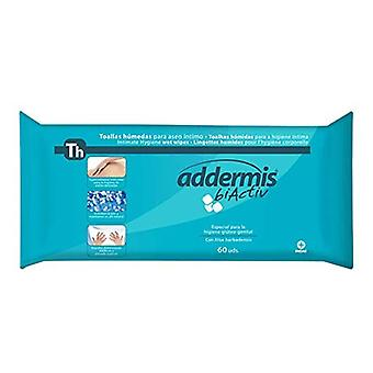 Moist Wipes Addermis Biactiv Indasec (60 uds)