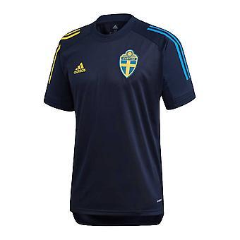 2020-2021 Schweden Trainingstrikot (Nacht Indigo)