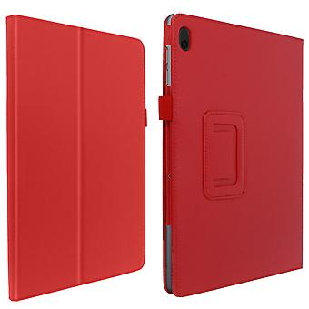 Protective Case Lenovo Tab E10 10.1 Soft Touch Inner Support Function Red
