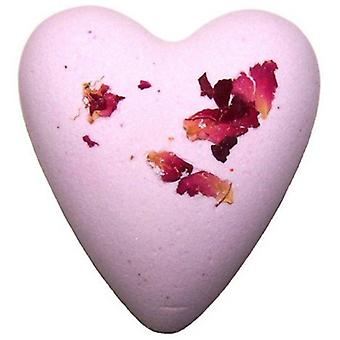 Rose Megafizz Heart Bath Bomb
