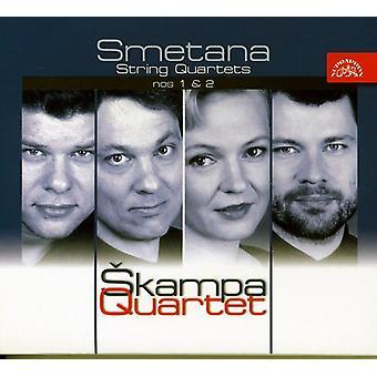 Skampa Quartet - Smetana: String Quartets Nos. 1 & 2 [CD] USA import