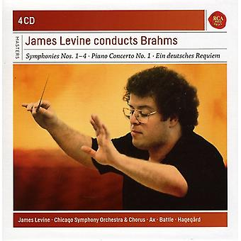 James Levine - importazione USA James Levine dirige Brahms [CD]