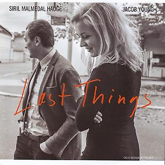 Last Things [CD] USA import