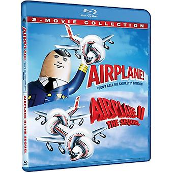 Flygplan: 2-Film Collection [Blu-ray] USA import