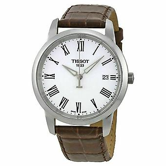 Tissot T033.410.16.013.00 Classic White Dial Unisex Watch