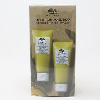 Origins Overnight Mask Duo 2-Pcs Set  2X2.5oz/ New With Box