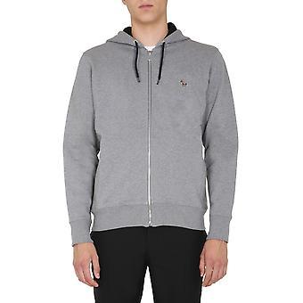 Ps By Paul Smith M2r360razebra72 Men's Grey Cotton Sweatshirt