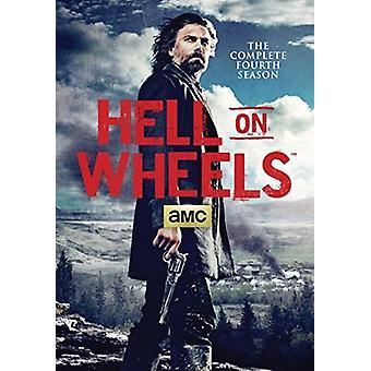 Hell on Wheels: Season 4 [DVD] USA import
