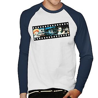 Thunderbirds Film Strip design män ' s baseball Långärmad T-shirt