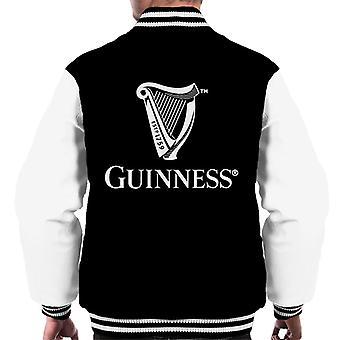 Guinness Classic Harp Logo Men's Varsity Jacket