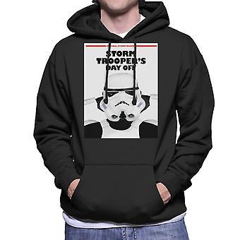 Original Stormtrooper Storm Troopers Day Off Parody Men's Hooded Sweatshirt