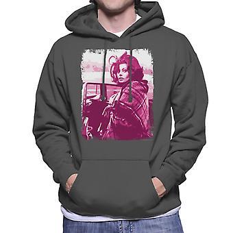 Sophia Loren Arabesque 1965 Film skjuta Mäns Hooded Sweatshirt