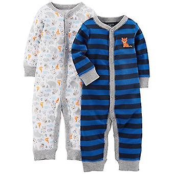 Simple Joys by Carter's Baby Boys' 2-Pack Cotton Footless Sleep and Play, Ani...