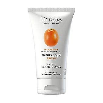 SPF20 Sun Lotion Face and Body 100 ml of cream