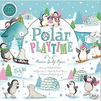 Craft Consortium Polar Playtime 6x6 Inch Paper Pad