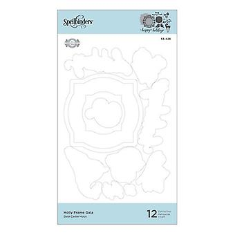 Holly Frame Gala Etched Dies (S5-428)