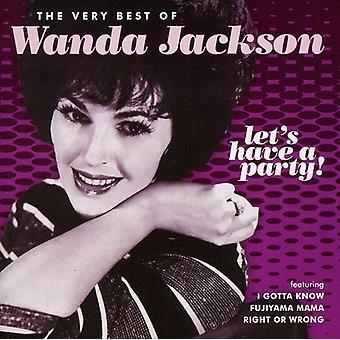 Wanda Jackson - Let's Have a Party: Very Best of Wanda Jackson [CD] USA import